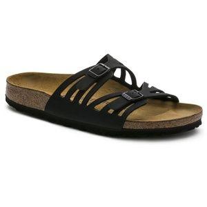 BIRKENSTOCK💟Newalk Granada Leather Sandals